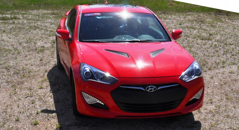 2014 Hyundai Genesis Coupe 3.8L V6 R-Spec - Road Test Review of FAST and FUN RWD Sportscar 70
