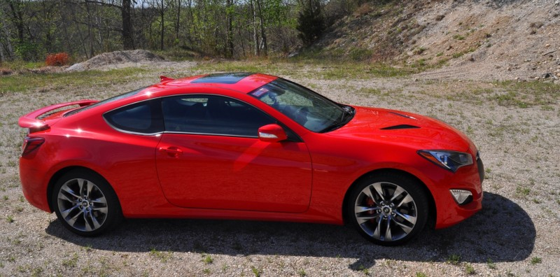 2014 Hyundai Genesis Coupe 3.8L V6 R-Spec - Road Test Review of FAST and FUN RWD Sportscar 77