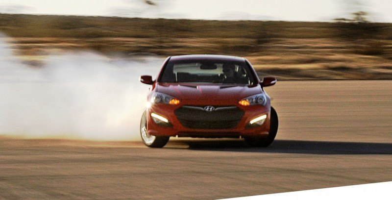 2014 Hyundai Genesis Coupe 3.8L V6 R-Spec - Road Test Review of FAST and FUN RWD Sportscar 8