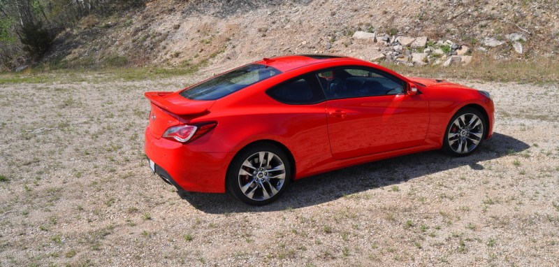 2014 Hyundai Genesis Coupe 3.8L V6 R-Spec - Road Test Review of FAST and FUN RWD Sportscar 83