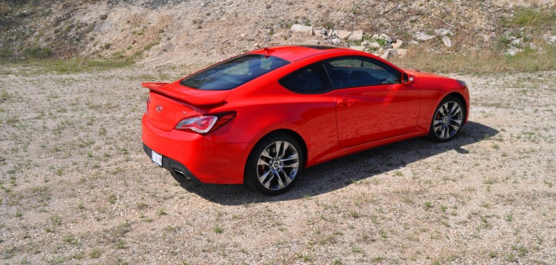 2014 Hyundai Genesis Coupe 3.8L V6 R-Spec - Road Test Review of FAST and FUN RWD Sportscar 84