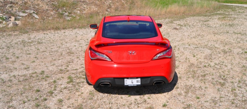 2014 Hyundai Genesis Coupe 3.8L V6 R-Spec - Road Test Review of FAST and FUN RWD Sportscar 90