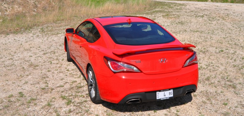 2014 Hyundai Genesis Coupe 3.8L V6 R-Spec - Road Test Review of FAST and FUN RWD Sportscar 92