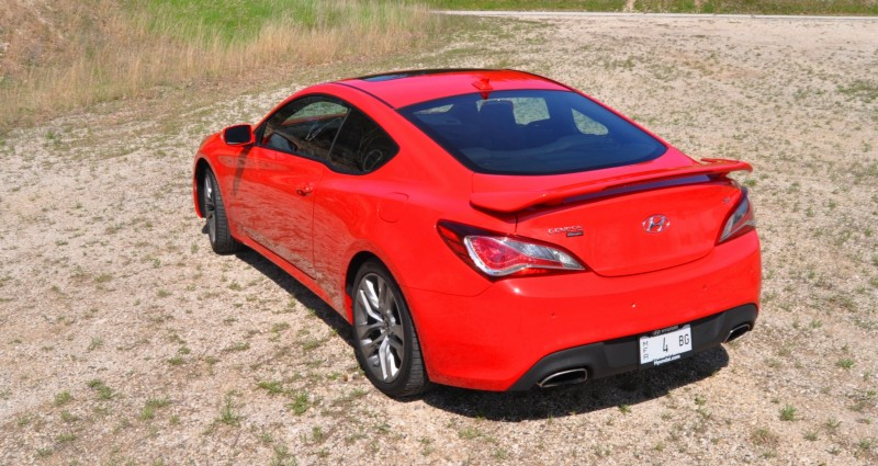 2014 Hyundai Genesis Coupe 3.8L V6 R-Spec - Road Test Review of FAST and FUN RWD Sportscar 93