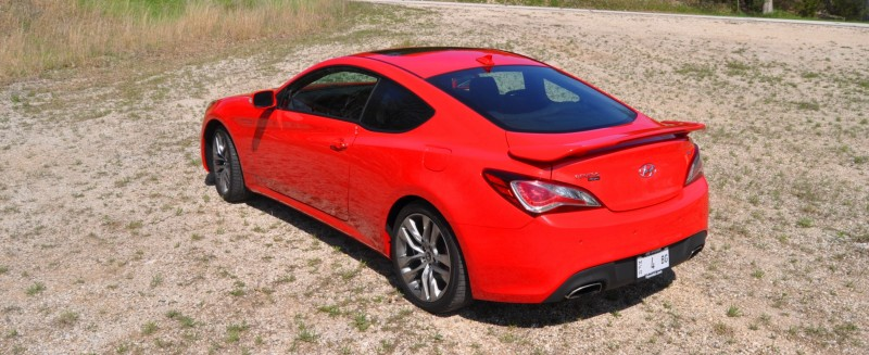 2014 Hyundai Genesis Coupe 3.8L V6 R-Spec - Road Test Review of FAST and FUN RWD Sportscar 94