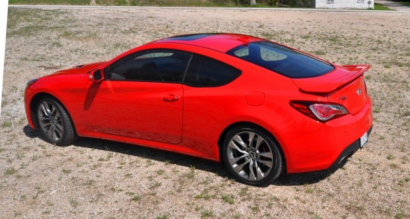 2014 Hyundai Genesis Coupe 3.8L V6 R-Spec - Road Test Review of FAST and FUN RWD Sportscar 96
