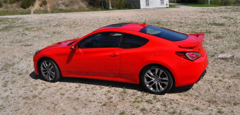 2014 Hyundai Genesis Coupe 3.8L V6 R-Spec - Road Test Review of FAST and FUN RWD Sportscar 97