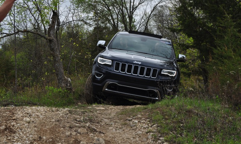 2014 Jeep Grand Cherokee Shows Its Trail Rated Skills Off-Road 39