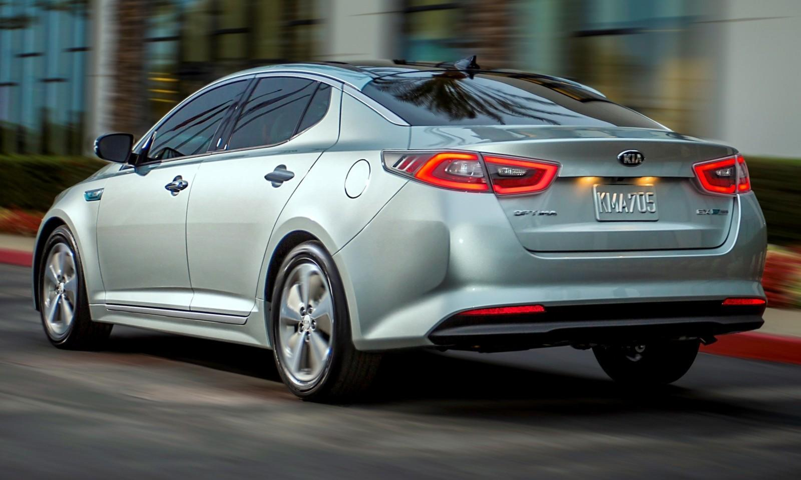 2014 Kia Optima Hybrid Updated With New Grille and LEDs Front and Rear - Specs, Features and Pricing 17