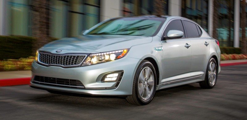 2014 Kia Optima Hybrid Updated With New Grille and LEDs Front and Rear - Specs, Features and Pricing 22