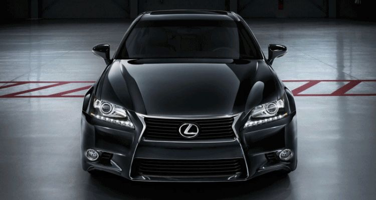 2014 Lexus GS Hybrid and GS350 - Animated GIF header