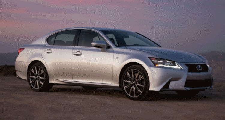 2014 Lexus GS Hybrid and GS350 - Animated GIF header222