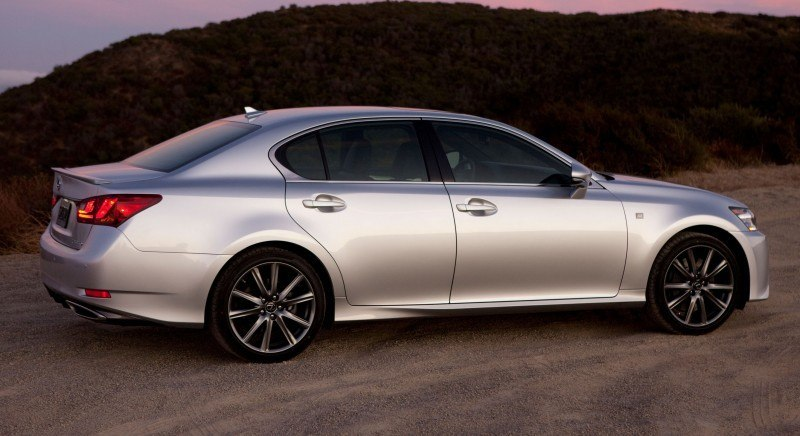 2014 Lexus GS350 and GS F Sport - Buyers Guide Info 12