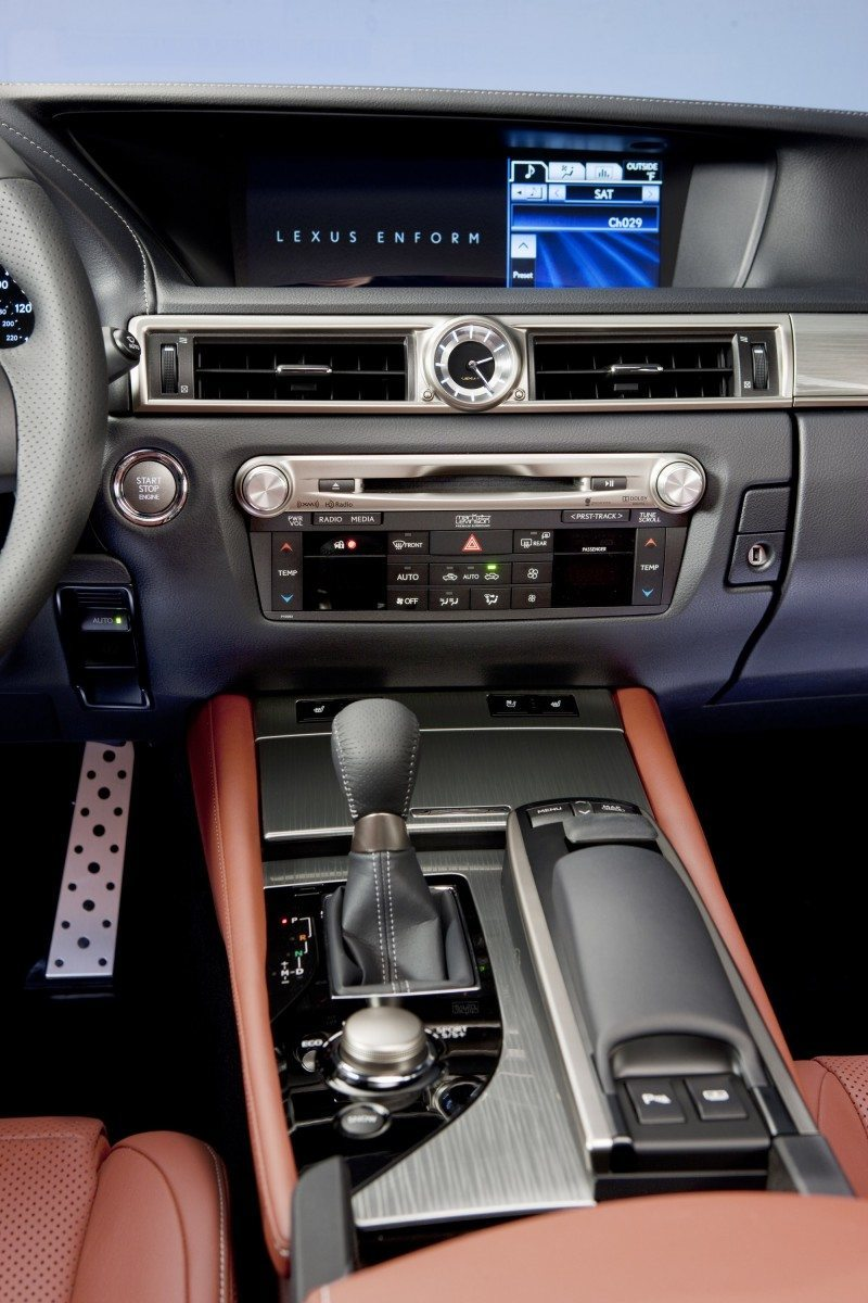 2014 Lexus GS350 and GS F Sport - Buyers Guide Info 25