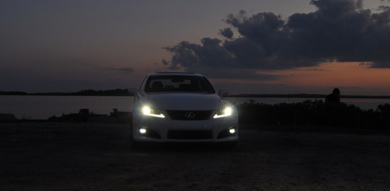 2014 Lexus IS-F Looking Sublime in Sunset Photo Shoot 1