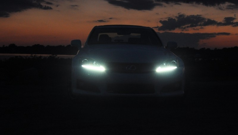 2014 Lexus IS-F Looking Sublime in Sunset Photo Shoot 14