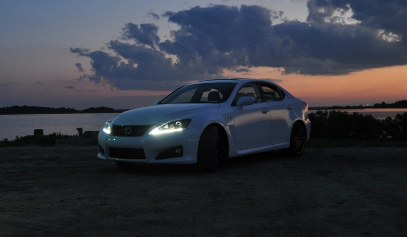 2014 Lexus IS-F Looking Sublime in Sunset Photo Shoot 18