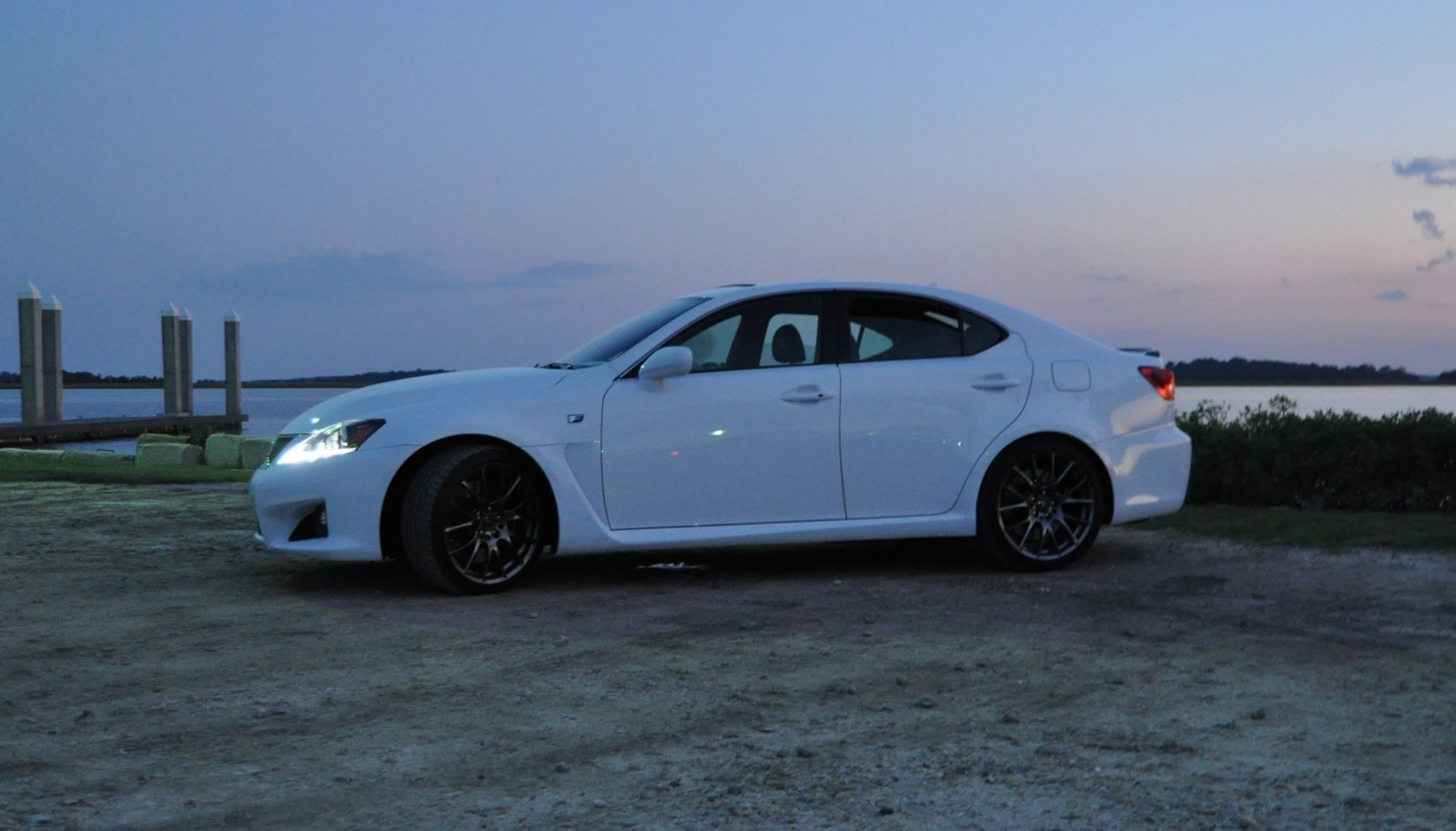 2014 Lexus IS-F Looking Sublime in Sunset Photo Shoot 19