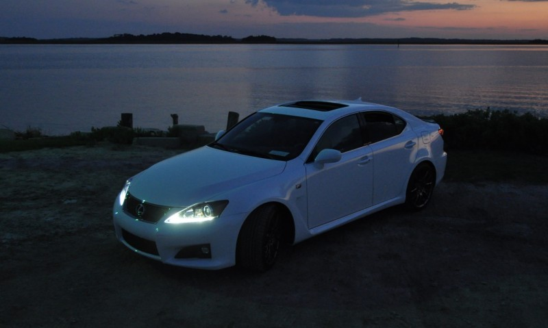 2014 Lexus IS-F Looking Sublime in Sunset Photo Shoot 21
