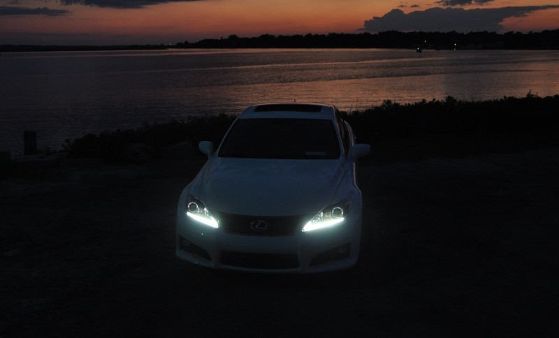 2014 Lexus IS-F Looking Sublime in Sunset Photo Shoot 22