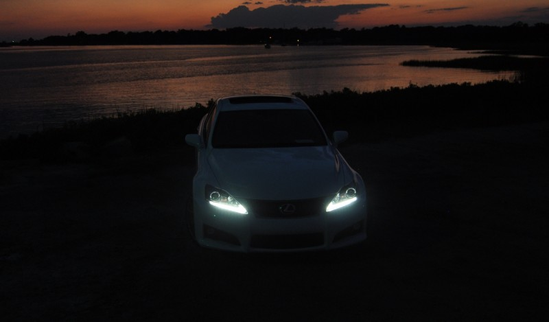 2014 Lexus IS-F Looking Sublime in Sunset Photo Shoot 23