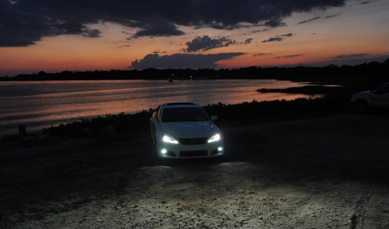 2014 Lexus IS-F Looking Sublime in Sunset Photo Shoot 24