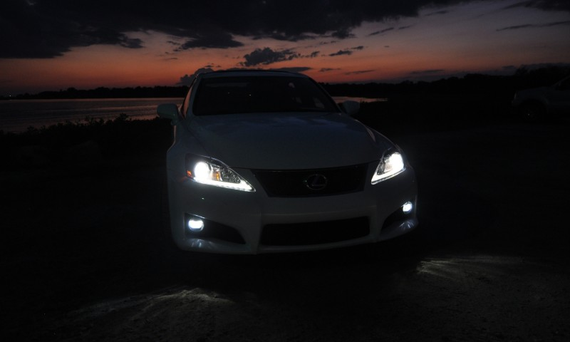 2014 Lexus IS-F Looking Sublime in Sunset Photo Shoot 26