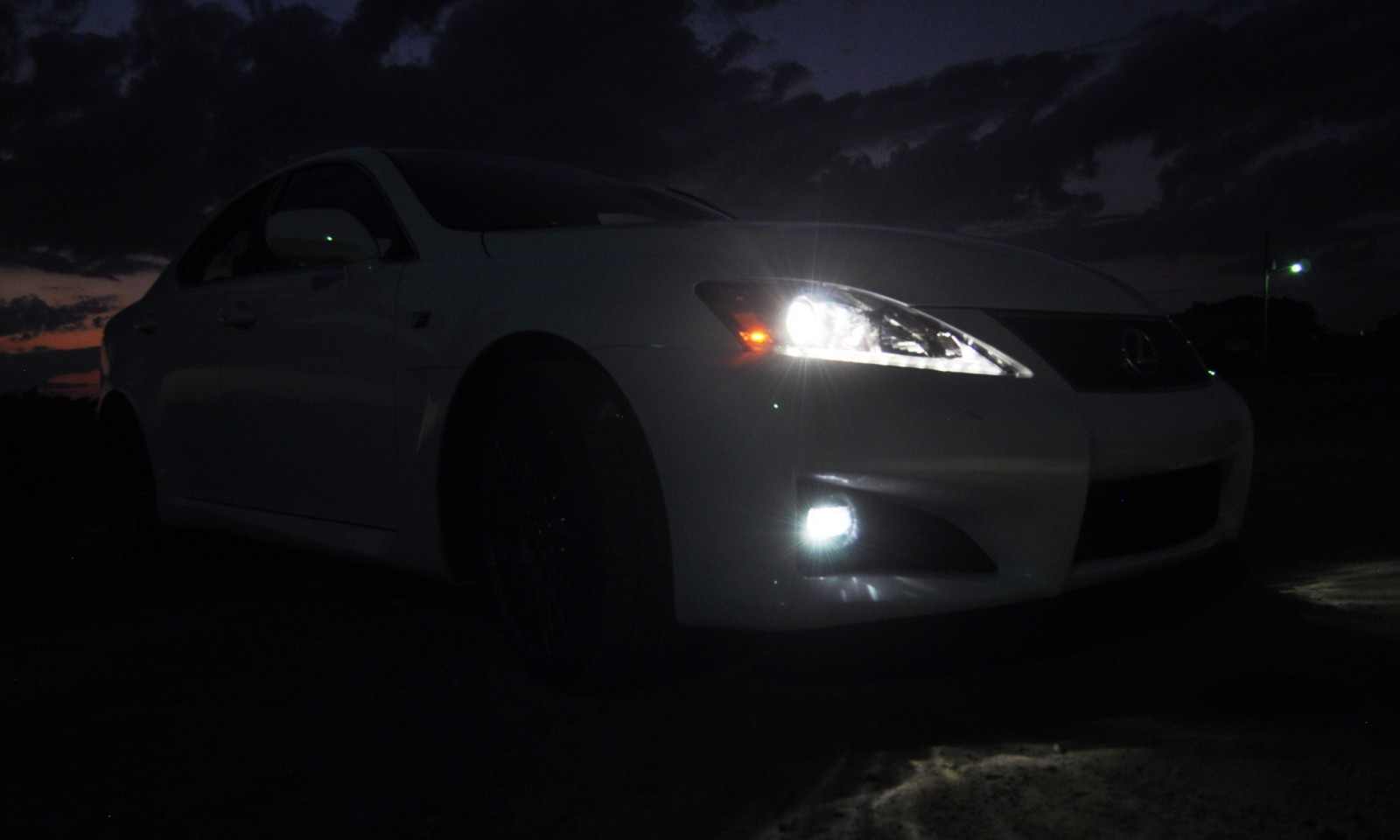 2014 Lexus IS-F Looking Sublime in Sunset Photo Shoot 30