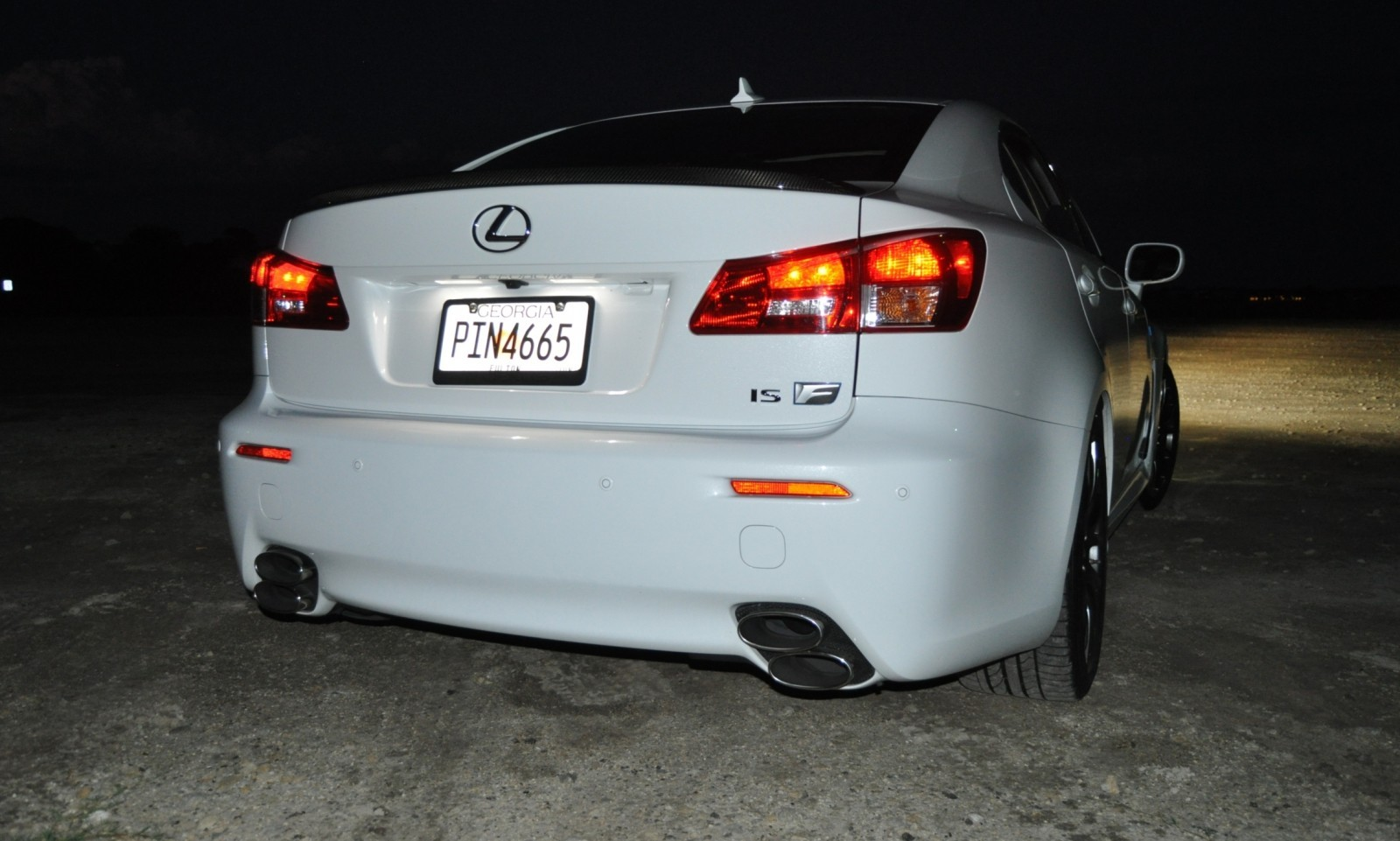 2014 Lexus IS-F Looking Sublime in Sunset Photo Shoot 31