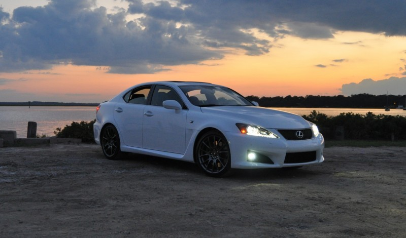 2014 Lexus IS-F Looking Sublime in Sunset Photo Shoot 4