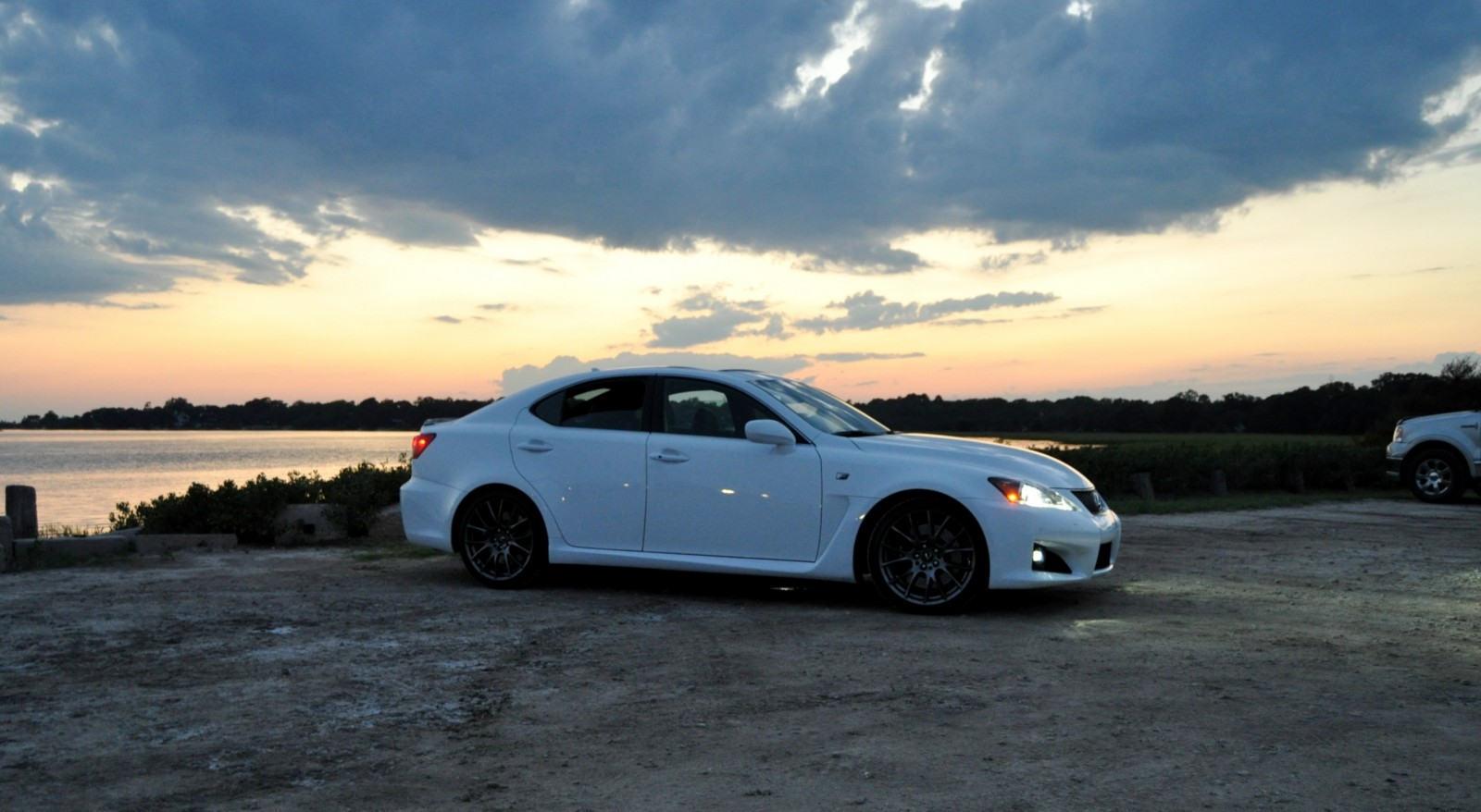 2014 Lexus IS-F Looking Sublime in Sunset Photo Shoot 6