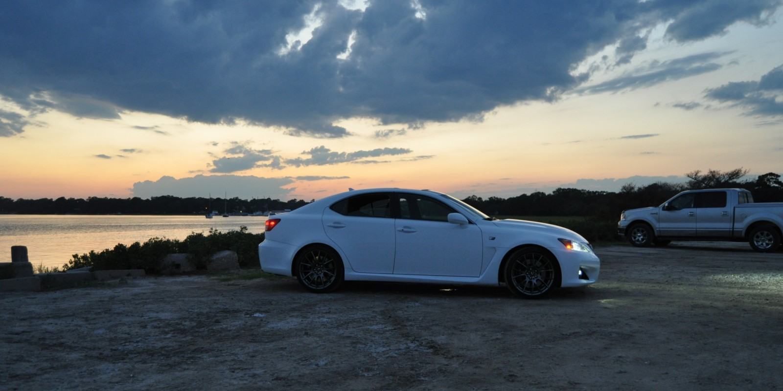 2014 Lexus IS-F Looking Sublime in Sunset Photo Shoot 7