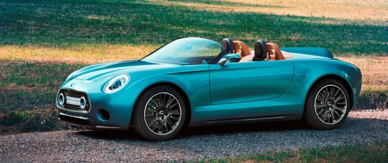 2014 MINI Superleggera Concept is Dreamy Roofless Speedster1