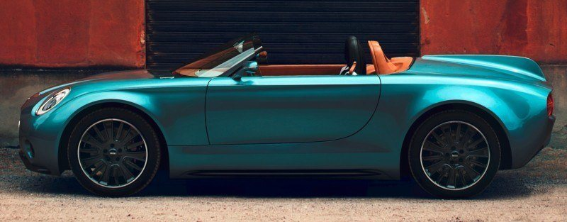 2014 MINI Superleggera Concept is Dreamy Roofless Speedster14