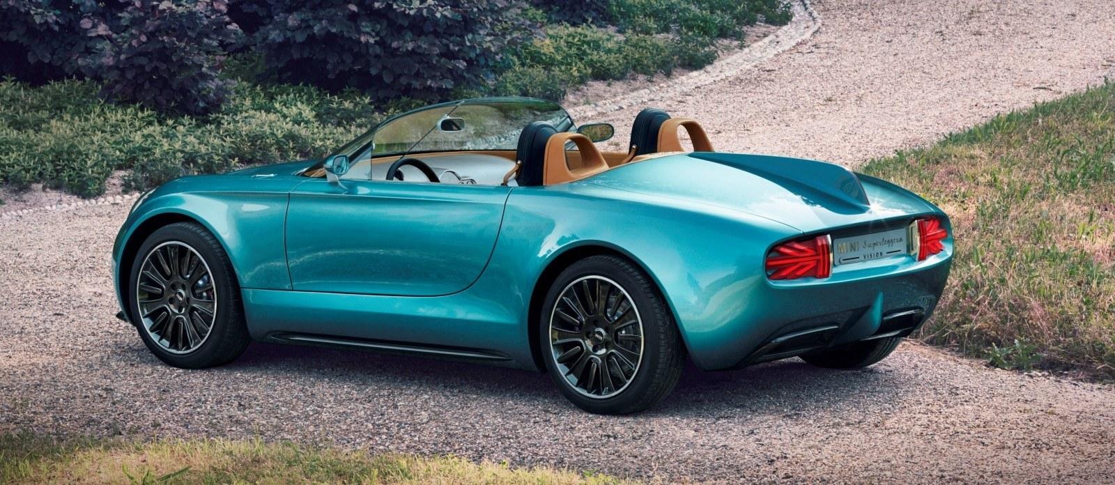 2014 MINI Superleggera Concept is Dreamy Roofless Speedster2