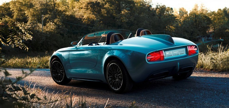 2014 MINI Superleggera Concept is Dreamy Roofless Speedster4