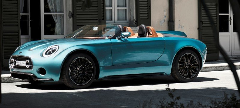 2014 MINI Superleggera Concept is Dreamy Roofless Speedster6