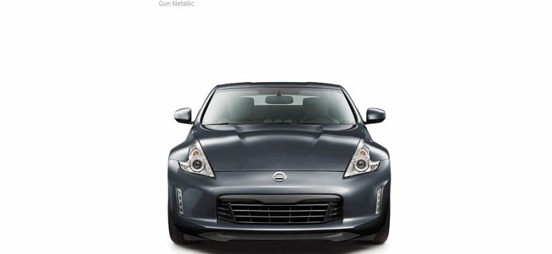 2014 Nissan 370Z Coupe - COLORS all gif