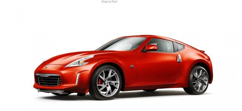 2014 Nissan 370Z Coupe - Colors, Specs, Options and Prices from $30k 18