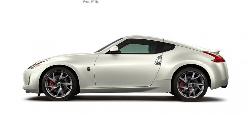 2014 Nissan 370Z Coupe - Colors, Specs, Options and Prices from $30k 26