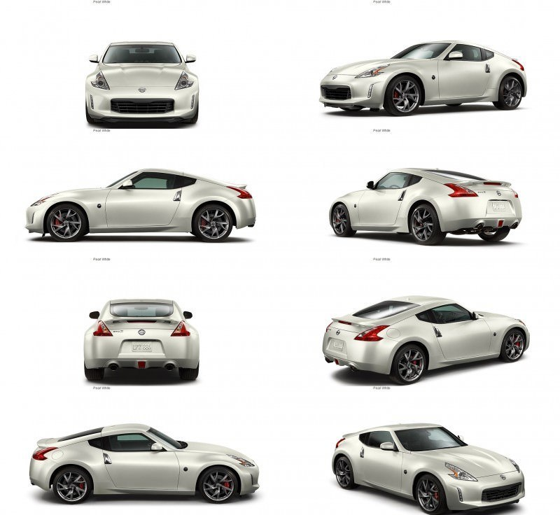 2014 Nissan 370Z Coupe - Colors, Specs, Options and Prices from $30k 32-tile
