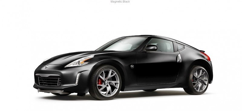 2014 Nissan 370Z Coupe - Colors, Specs, Options and Prices from $30k 33
