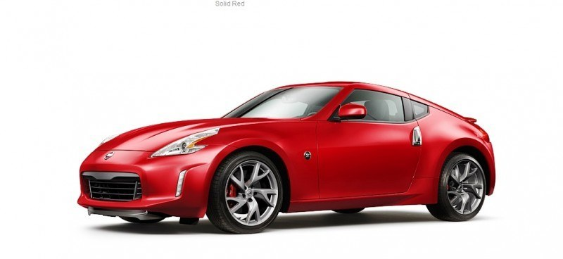 2014 Nissan 370Z Coupe - Colors, Specs, Options and Prices from $30k 42