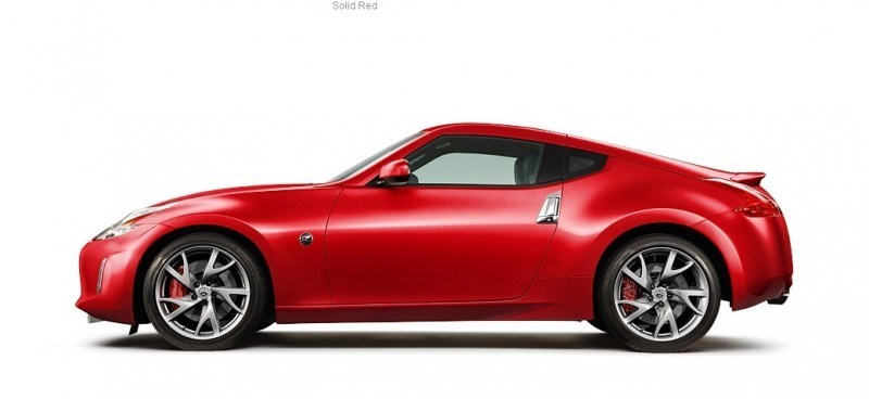 2014 Nissan 370Z Coupe - Colors, Specs, Options and Prices from $30k 43