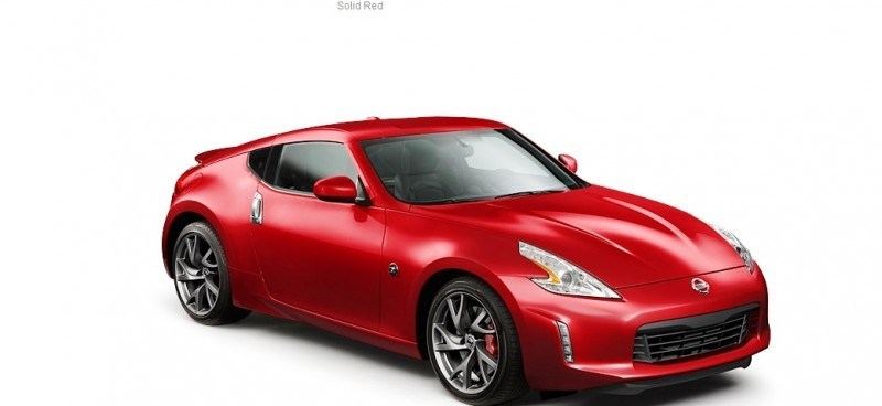 2014 Nissan 370Z Coupe - Colors, Specs, Options and Prices from $30k 48