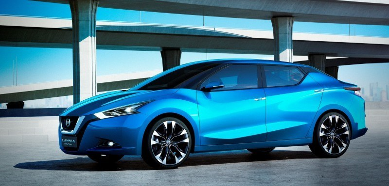 2014 Nissan Lannia Concept Previews Next Leaf EV 1