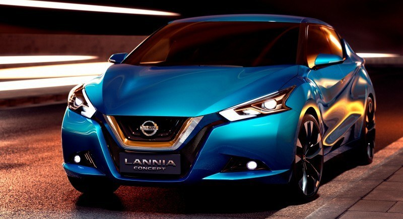 2014 Nissan Lannia Concept Previews Next Leaf EV 13
