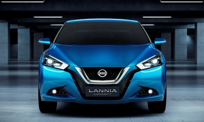 2014 Nissan Lannia Concept Previews Next Leaf EV 17