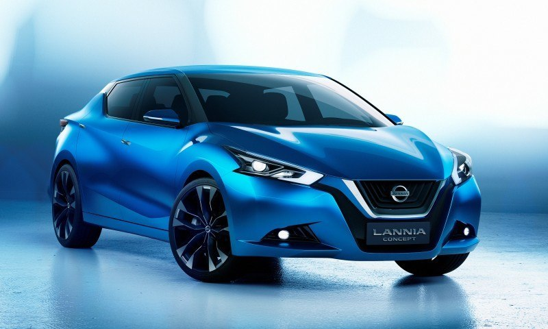 2014 Nissan Lannia Concept Previews Next Leaf EV 18