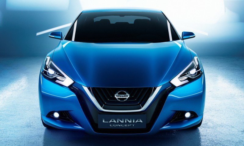 2014 Nissan Lannia Concept Previews Next Leaf EV 20